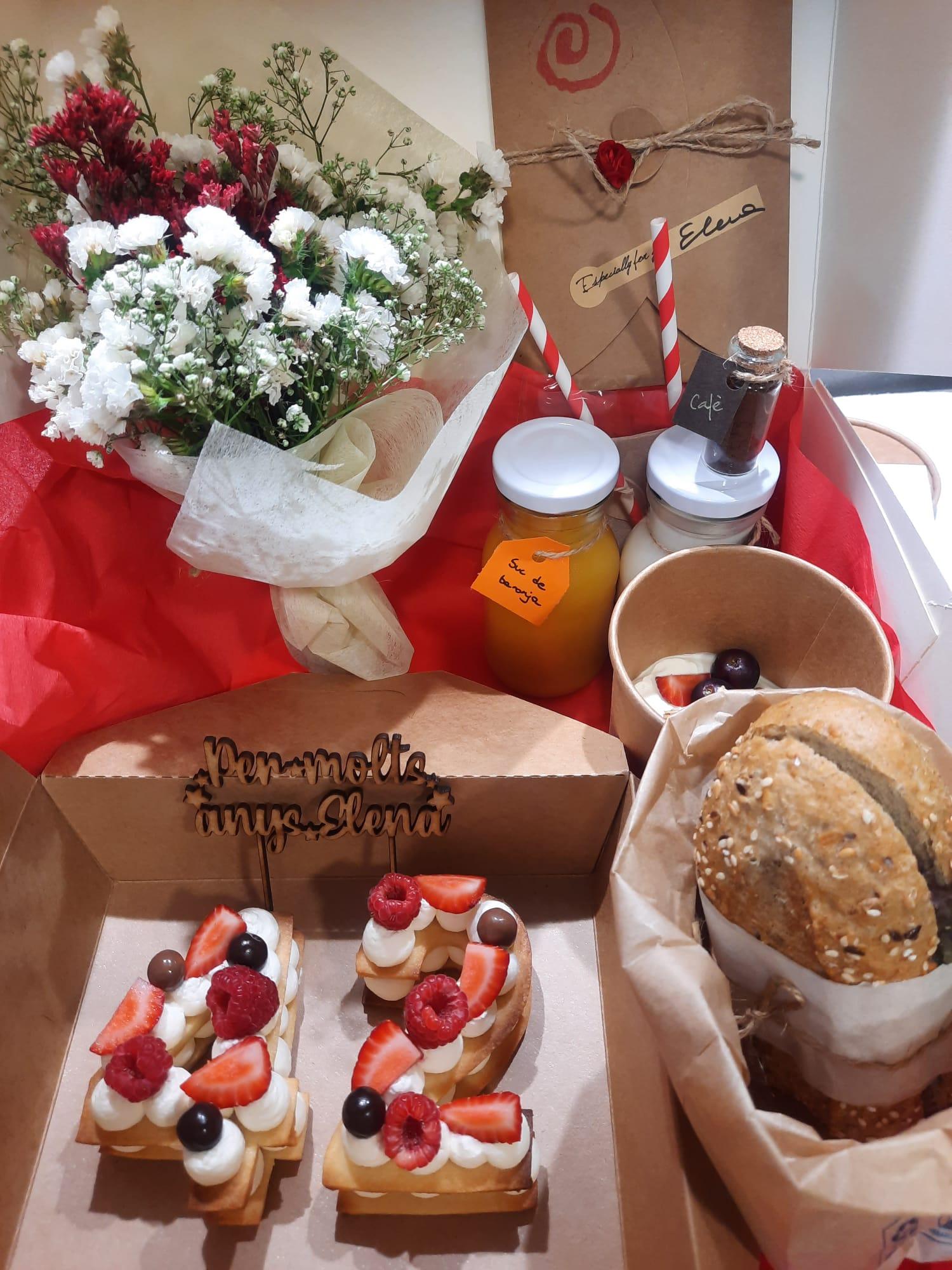 «Un plaer!!! Agraïda de la professionalitat i d'aquest esmorzar espectacular!🤗» Elena (Granollers)