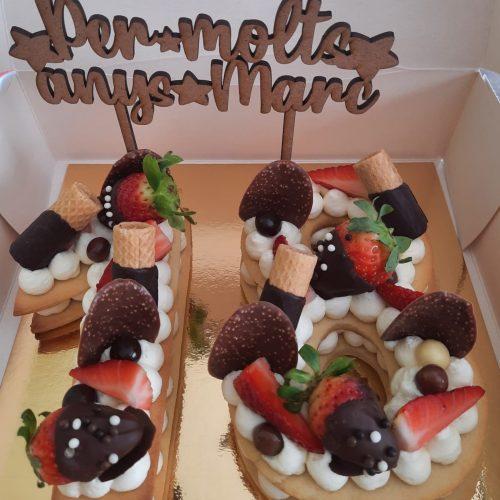 «Un pastís boníssim! Moltes gràcies!» Montse (Caldes de Montbui)