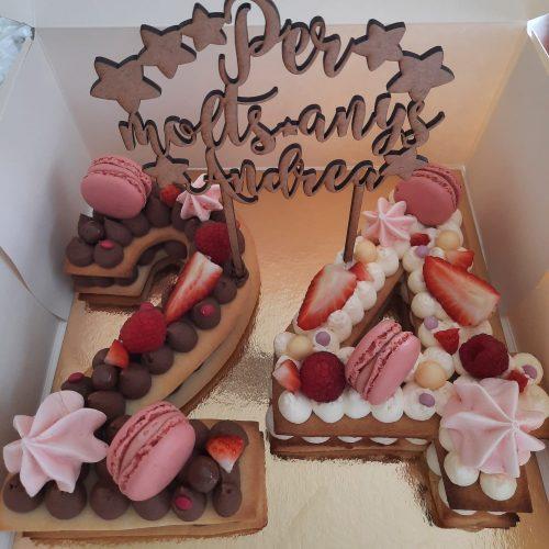 «Moltes gràcies pel pastis molt bo! �» Andrea (Vic)