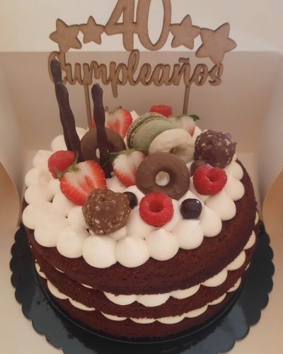 «Moltes gràcies! El pastís li ha agradat molt i estava boníssim😉» Xavi (La Garriga)